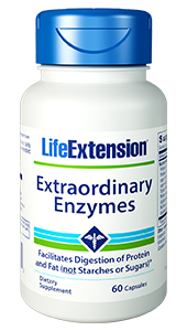Extraordinary Enzymes - Life Extension - Digestion, Glucose - 01706