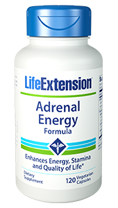 Adrenal Energy Formula | Life Extension | Stress - Energy - Ashwagandha