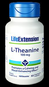 Life Extension L-Theanine, Suntheanine