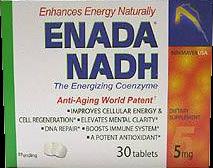 Prof Birkmayer Health Pro Enada NADH
