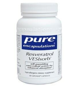 Pure Encapsulations Resveratrol VESIsorb
