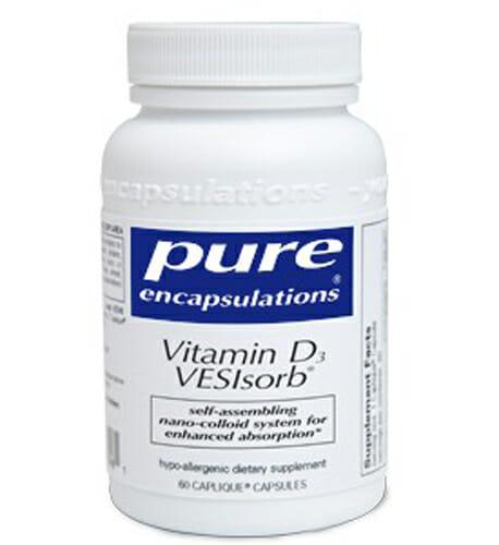 Pure Encapsulations Vitamin D3 VESIsorb