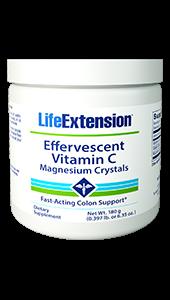 Effervescent Vitamin C - Magnesium Crystals