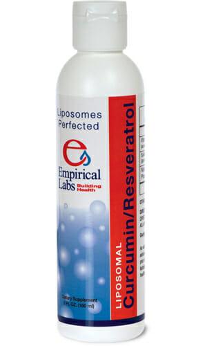 Empirical Labs Curcumin/Resveratrol, resveratrol, curcumin, liposomal