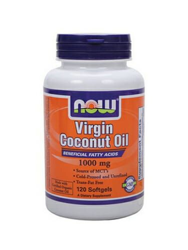 Organic Virgin Coconut Oil | NOW Foods | Unrefined - Pure - Caprylic
