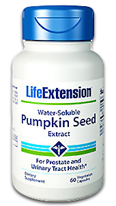 Life Extension Water-Soluble Pumpkin Seed Extract