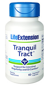 Tranquil Tract | Life Extension | Gas - Bloating - Intestinal Health - Probiotic