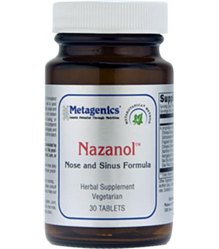 metagenics nazanol