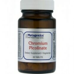 Chromium Picolinate - Metagenics - Insulin, Blood Sugar - CHRONB