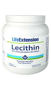Lecithin Granules - Life Extension - Cell Membrane Structure - 00020