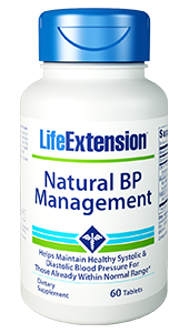 Natural BP Management - Life Extension - Blood Pressure