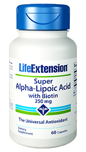 Life Extension Super-Alpha Lipoic Acid with Biotin