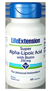 Life Extension Super-Alpha Lipoic Acid with Biotin