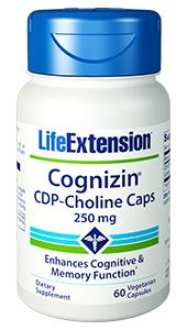 Life Extension Cognizin CDP-Choline Caps
