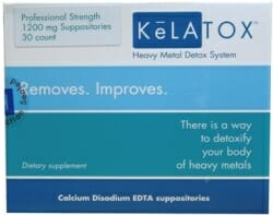 KeLATOX | EDTA Chelation Suppositories | CaNa2EDTA - Heavy Metal