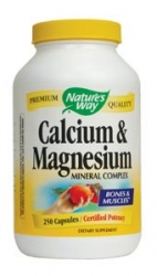 Nature's Way Calcium and Magnesium