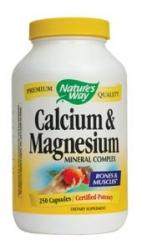 Nature's Way Calcium and Magnesium