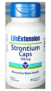 Life Extension Strontium Caps