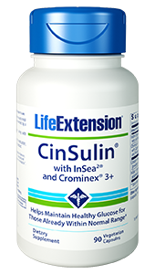Life Extension CinSulin with InSea2 and Crominex 3