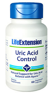 Uric Acid Control | Life Extension | Terminalia Bellerica Extract - Joints