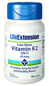 Life Extension Low-Dose Vitamin K2 (MK-7)