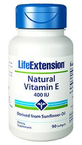 Life Extension Natural Vitamin E