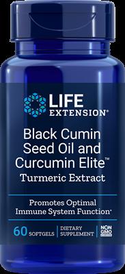 Black Cumin Seed Oil with Curcumin Elite Turmeric Extract