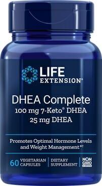DHEA Complete | Life Extension | Anti-Aging - 7-Keto DHEA