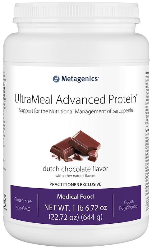 Metagenics UltraMeal Advanced Protein Dutch Chocolate