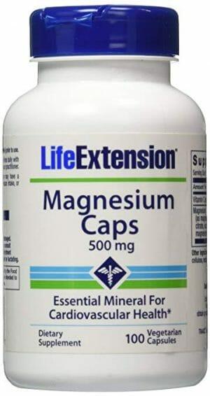 Life Extension's vegetarian Magnesium Caps