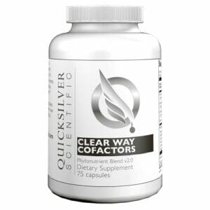 Clear Way Cofactors Antioxidant Blend - Quicksilver Scientific