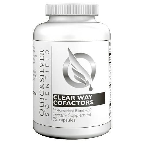Clear Way Cofactors Antioxidant Blend - Quicksilver Scientific