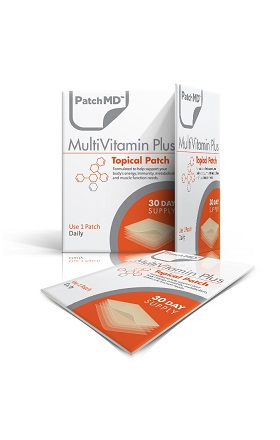 patchmd, multivitamin plus patch, multivitamin, multi, multiple, daily, transdermal, supplement patch