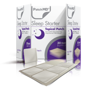 patchmd sleep starter topical patches, melatonin