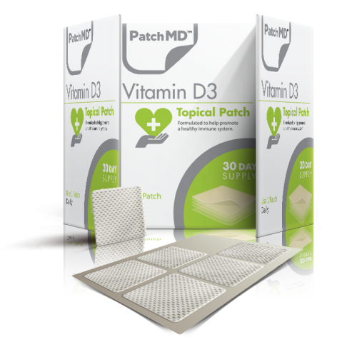 patchmd vitamin d3 topical patch