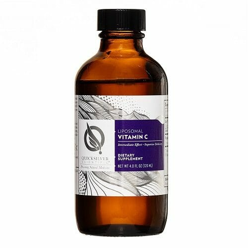 Quicksilver Scientific Liposomal Vitamin C, Featuring Quali-C