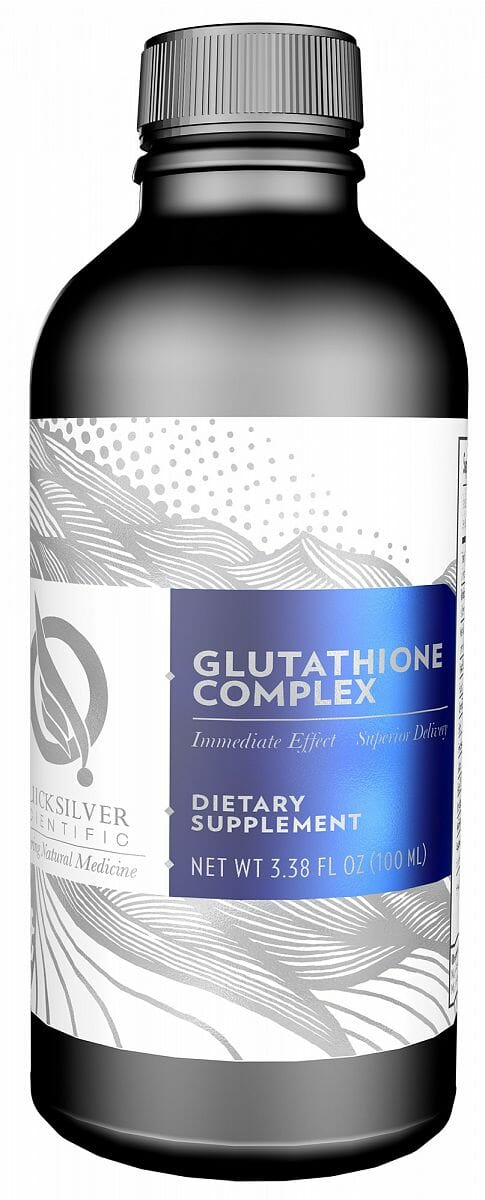 liposomal glutathione complex, quicksilver scientific