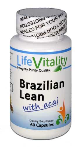 Brazilian Lean | Life Vitality | Antioxidant - ORAC - Weight - Acai