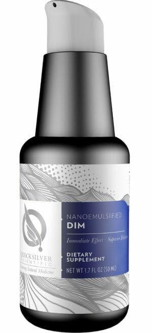 Quicksilver Scientific Nanoemulsified DIM, Liposomal, Indole-3-Carbinol