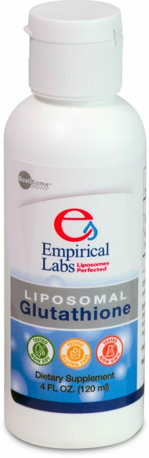 empirical labs, liposomal glutathione, reduced glutathione