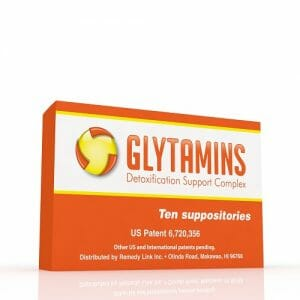 RemedyLink | Glytamins Detoxification Suppository | EDTA - Choline