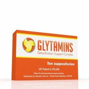 RemedyLink | Glytamins Detoxification Suppository | EDTA - Choline