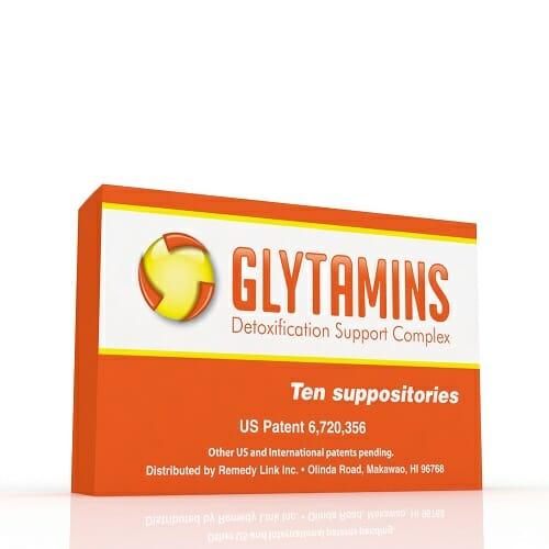 RemedyLink   Glytamins Detoxification Suppository   EDTA - Choline