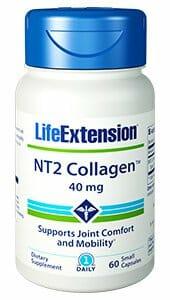 NT2 Collagen | Life Extension | Joint Discomfort - Undenatured, 60 Caps