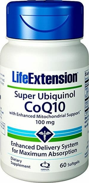 super ubiquinol coq10, life extension, coq10