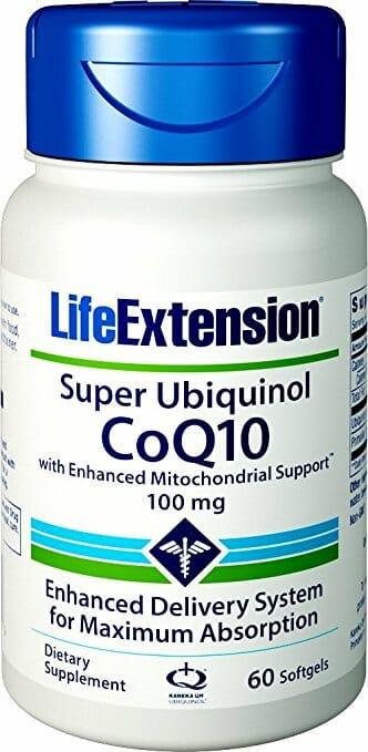 super ubiquinol coq10, life extension, coq10