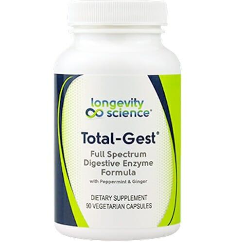 Total-Gest | Longevity Science | Digestive Health - Gas - Bloating