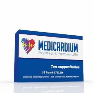 RemedyLink | Medicardium EDTA Chelation Suppositories | Detoxification