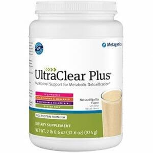 ultraclear plus, metagenics, vanilla