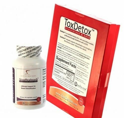 toxdetox, glutathione, edta, oradix, suppository, antioxidant, Glutathione and EDTA Suppositories